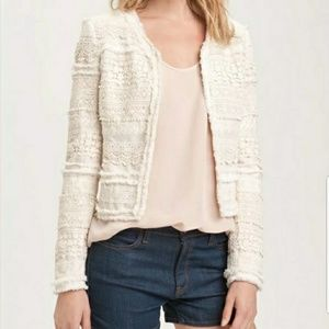 Truth and Pride Cream Lace Jacket size small